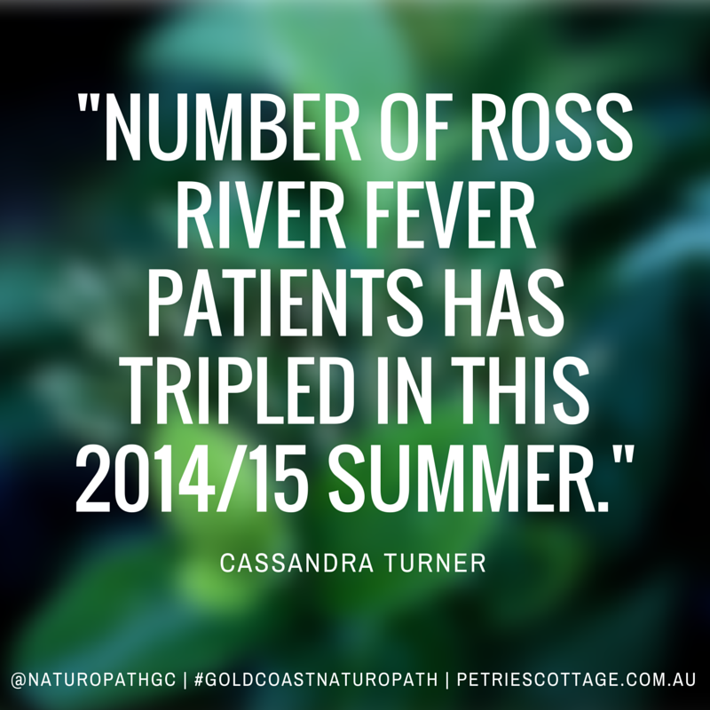 Gold Coast Naturopath: Natural treatments for Ross River Fever