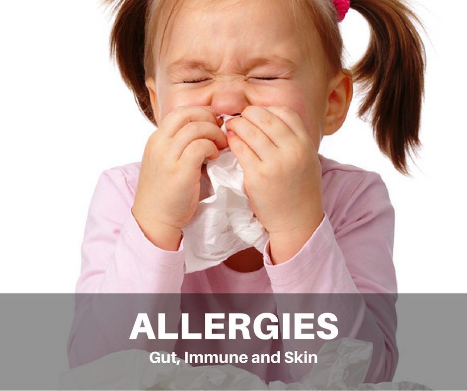 Allergies - Gut, Immune and Skin