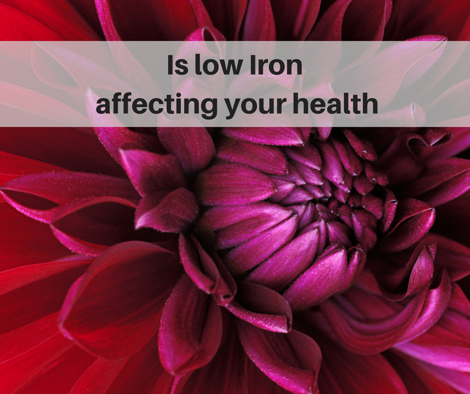 Low Iron is not just about taking Iron supplements...