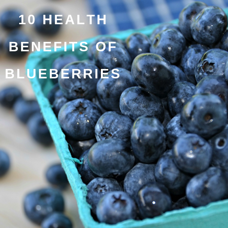 10 health benefits of Blueberries